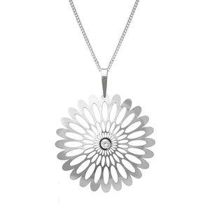 Praqia Strieborný náhrdelník Shining Blossom KO0941M_CU040_50_RH (retiazka, prívesok) vyobraziť