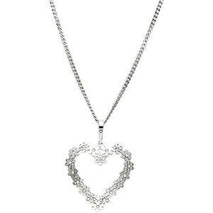 Praqia Strieborný náhrdelník Heartbeat KO1151_CU050_45_RH (retiazka, prívesok) vyobraziť