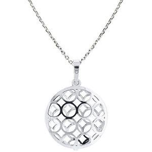 Praqia Originálne strieborný náhrdelník KO1694_MO040_45_RH (retiazka, prívesok) vyobraziť