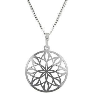 Praqia Nádherný strieborná náhrdelník KO5019_CU040_45_RH (retiazka, prívesok) vyobraziť