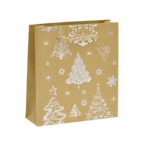JK Box Vianočná darčeková taška KX-98 / AG vyobraziť