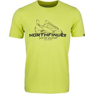 Northfinder Pánske tričko Allan Regular Fit TR-3540OR 316 Green M vyobraziť