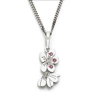 Praqia Originálne strieborný náhrdelník Cherry KO5034_RH (retiazka, prívesok) vyobraziť