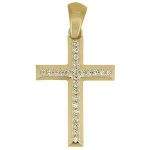 Brilio Prívesok krížik zo žltého zlata CRS177_AU_Y vyobraziť