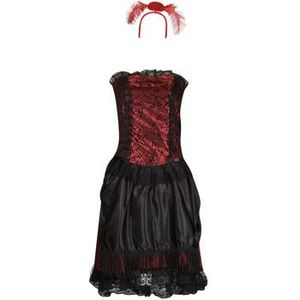 Kostýmy Fun Costumes COSTUME ADULTE SALOON GIRL vyobraziť