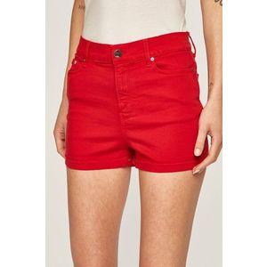 Karl Lagerfeld Denim - Rifľové krátke nohavice vyobraziť