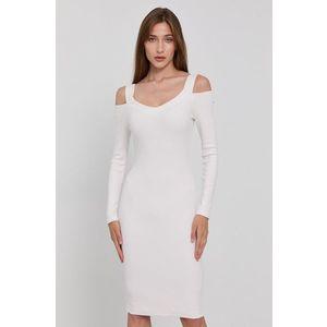 GUESS Šaty biela vyobraziť