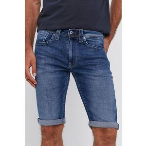 Pepe Jeans - Rifľové krátke nohavice Cash vyobraziť