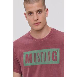 Mustang - Bavlnené tričko vyobraziť