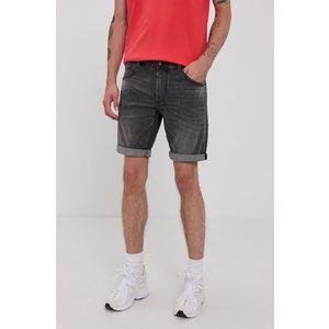 Tom Tailor - Rifľové krátke nohavice vyobraziť