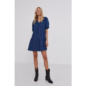 Answear Lab - Rifľové šaty vyobraziť