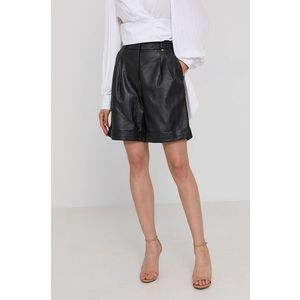 Liu Jo - Kožené krátke nohavice vyobraziť