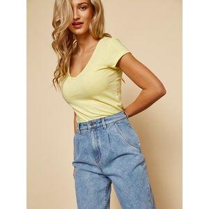 Žlté dámske basic tričko ZOOT Baseline Lia vyobraziť