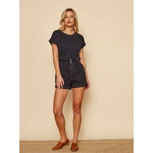 Čierne dámske basic tričko ZOOT Baseline Ruthie vyobraziť