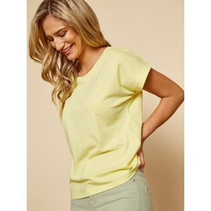Žlté dámske basic tričko ZOOT Baseline Ruthie vyobraziť