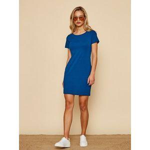 Modré basic šaty ZOOT Baseline Brennda 2 vyobraziť