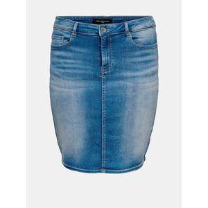 Modrá rifľová sukňa ONLY CARMAKOMA vyobraziť