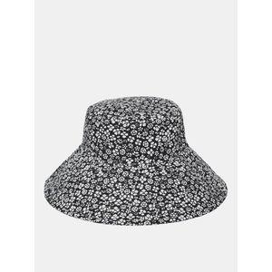 Bielo-čierny kvetovaný klobúk VERO MODA Bella vyobraziť