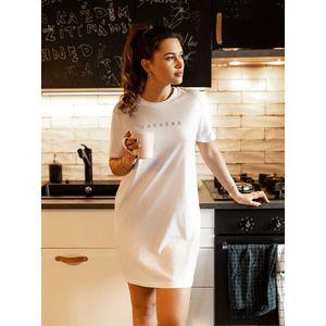 Biela dámska nočná košeľa ZOOT Original Zasněná vyobraziť