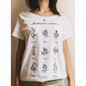 Biele dámske tričko ZOOT Original Herbarium Modern vyobraziť
