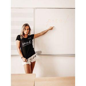 Čierne dámske tričko ZOOT Original Prcat vyobraziť
