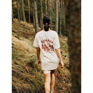 Krémové dámske oversize tričko ZOOT Original Šumava vyobraziť
