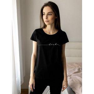 Čierne dámske tričko ZOOT Original Láska vyobraziť
