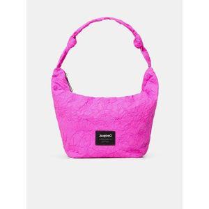 Ružová dámska kabelka Desigual Crush Idaho vyobraziť