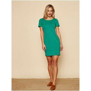 Zelené basic šaty ZOOT Baseline Brennda 2 vyobraziť