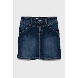 Calvin Klein Jeans - Dievčenská rifľová sukňa vyobraziť
