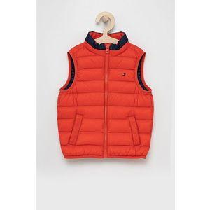Tommy Hilfiger - Detská páperová vesta vyobraziť