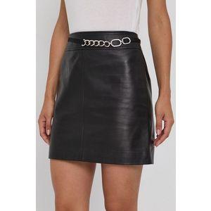 Hugo - Kožená sukňa vyobraziť