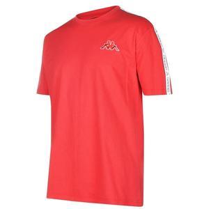 Kappa Tape T Shirt Mens vyobraziť