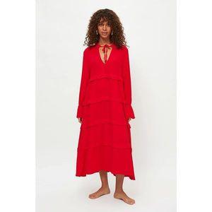 Dámske šaty Trendyol Frill Detailed vyobraziť