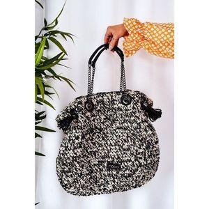 Braided Shopper Bag NOBO XG0010 Black vyobraziť