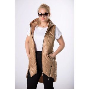 quilted vest with zippers vyobraziť