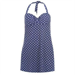 Dámske plavkové šaty Full Circle Halter vyobraziť