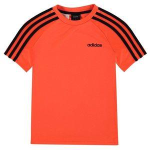 Triko adidas 3 Stripe Estro T Shirt detské Boys vyobraziť