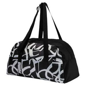 Puma Taška Core Active Sportsbag M Black vyobraziť