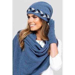 Kamea Woman's Hat K.18.021.16 Jeans vyobraziť