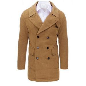 Hnedý panský zimný kabát vyobraziť