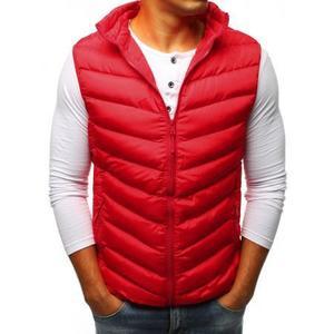 Pánska vesta STYLE prešívaná červená vyobraziť