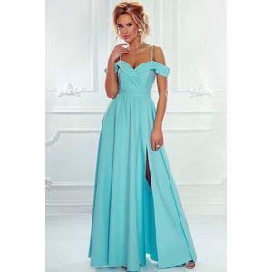 Mätové dlhé šaty Elizabeth vyobraziť