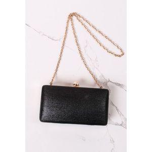 Čierna spoločenská kabelka Tosca vyobraziť