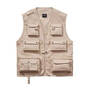 Brandit Hunting Vest beige - XL vyobraziť