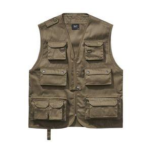 Brandit Hunting Vest olive - XL vyobraziť