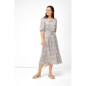 Orsay vzorované, košeľové šaty maxi vyobraziť