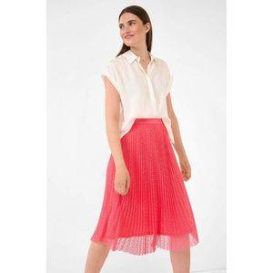 Orsay plisovaná, bodkovaná sukňa vyobraziť