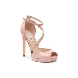 Guess Sandále Finnea FL7FNN PAF03 Ružová vyobraziť