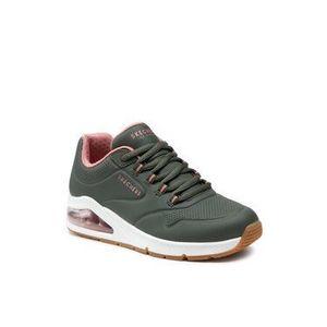 Skechers Sneakersy 2nd Best 155542/OLV Zelená vyobraziť